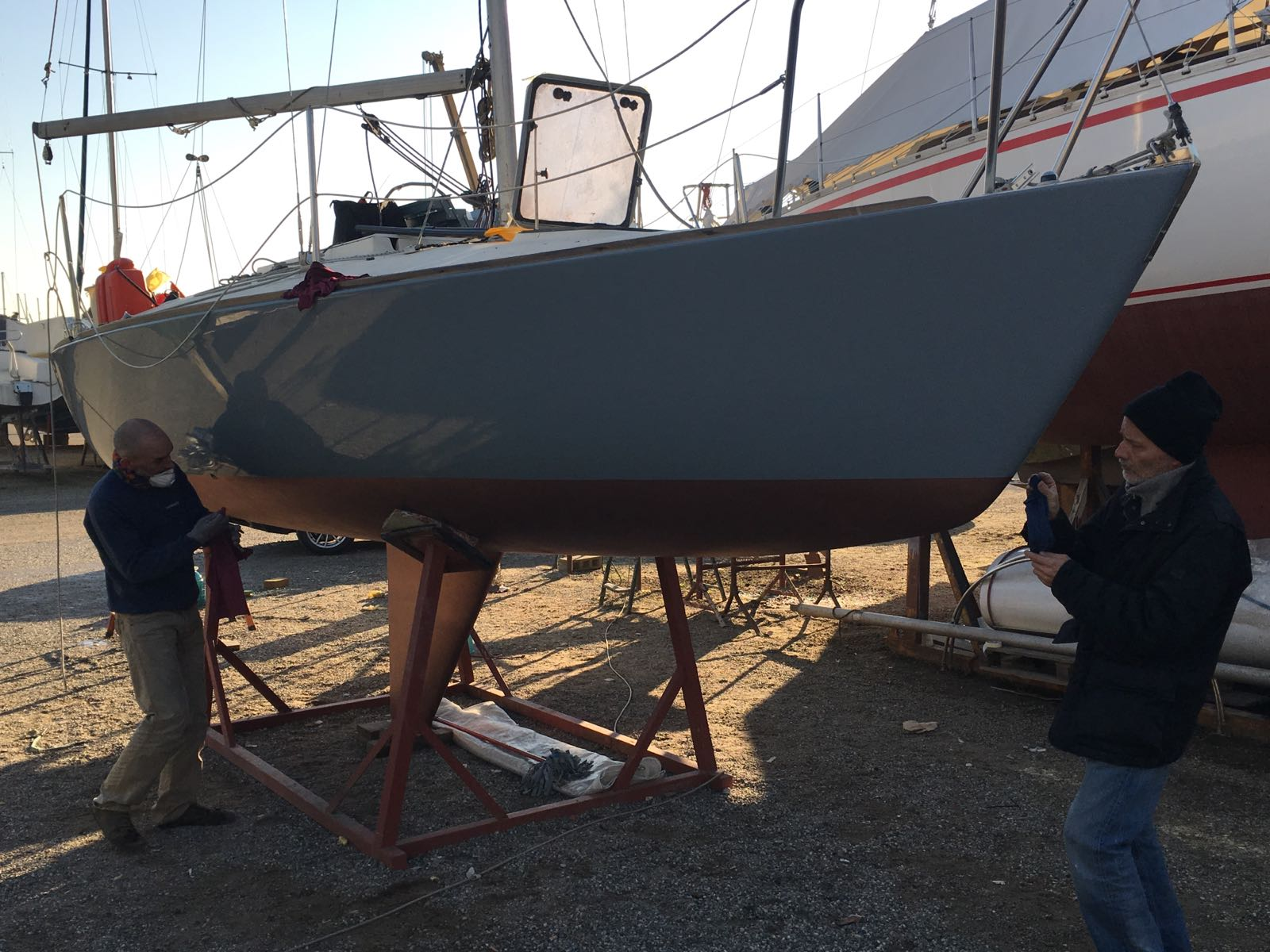 Refitting Colibrì