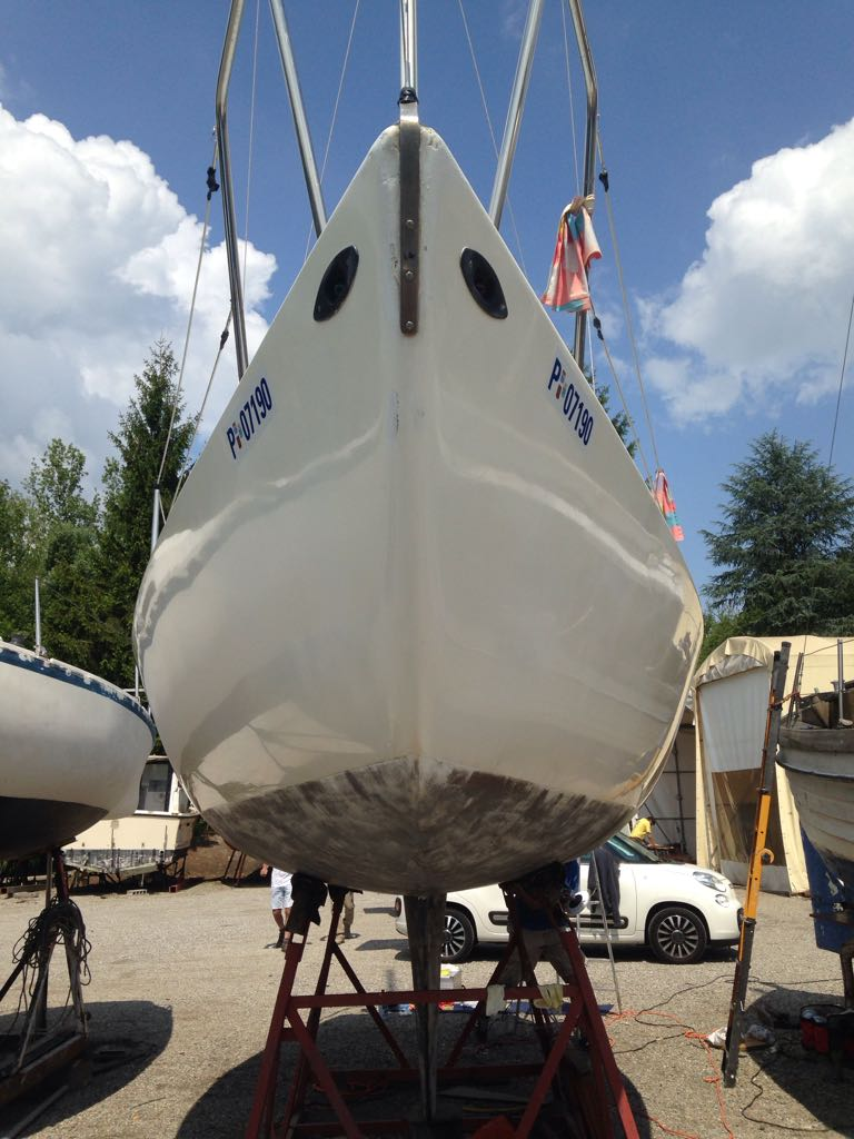 Refitting Colibrì 2